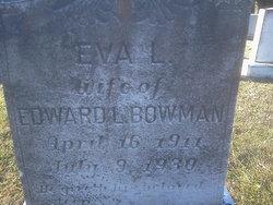 Eva Louise <i>Wright</i> Bowman