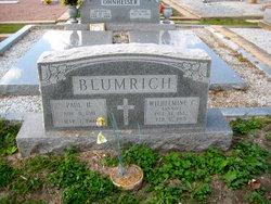 Wilhelmine C Annie <i>Melcher</i> Blumrich