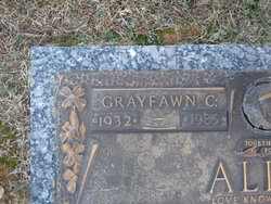 Grayfawn <i>Cranford</i> Allen