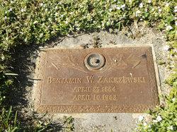 Benjamin W Zakrzewski