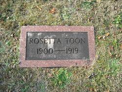 Rosetta Toon