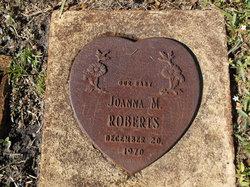 Joanna M Roberts