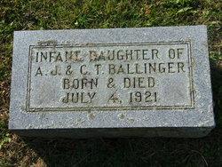 Infant Daughter Ballinger