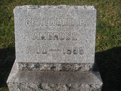 Gertrude P. Ambrose