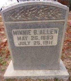 Minnie B. <i>Sieber</i> Allen