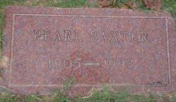 Pearl <i>Baxter</i> Allen