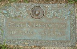 Ethel Belle <i>Roberts</i> Harrington