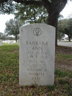 Barbara Ann Roberts