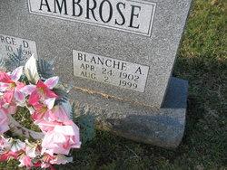 Blanch A Ambrose