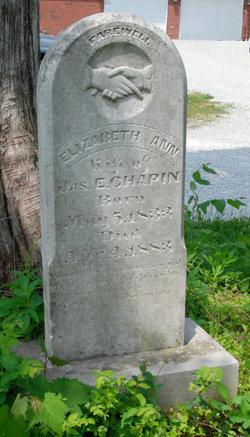 Elizabeth Ann <i>Pate</i> Chapin