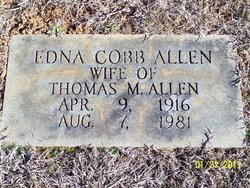 Edna <i>Cobb</i> Allen