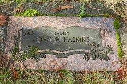 John William Jack Haskins