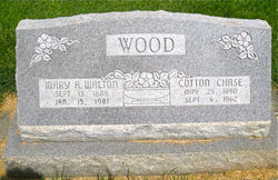 Mary Amelia <i>Walton</i> Wood