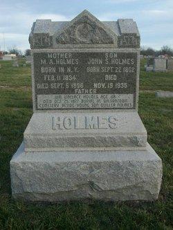 Malinda Ann <i>Roberts</i> Holmes