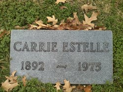 Carrie Estelle <i>Smith</i> Farrar