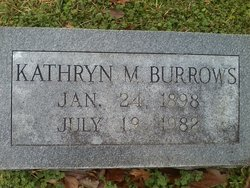 Kathryn <i>Mitchell</i> Burrows