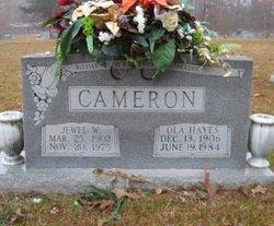 Ola <i>Hayes</i> Cameron