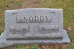 Martha M Snoddy