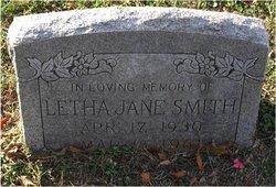 Letha Jane Smith