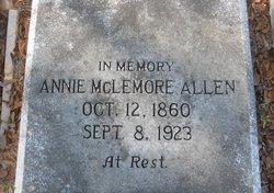 Annie <i>McLemore</i> Allen