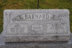 Christine Jane <i>Bell</i> Barnard
