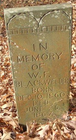 W. F. Blackwelder