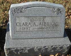 Clara A Albright