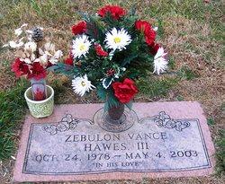 Zebulon Vance Hawes, III