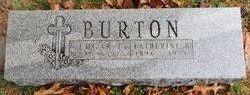 Edgar T Burton