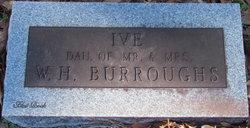 Ivie Burroughs