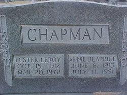 Annie Beatrice Chapman