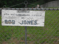 Rob Jones Family Cemetery