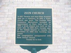 Zion Cemetery Glenelg