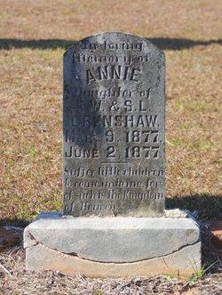 Annie Crenshaw