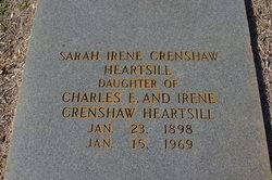 Sarah Irene Crenshaw Heartsill