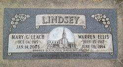 Warren Ellis Lindsey