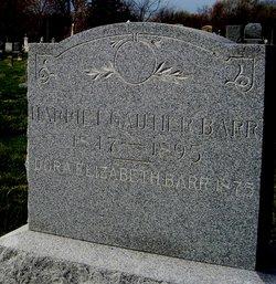 Harriet <i>Gautier</i> Barr