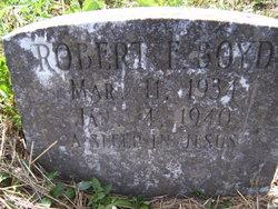 Robert F. Boyd