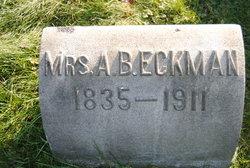 Mrs A Beckman