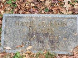 Mamie <i>Jackson</i> Thomas