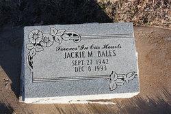 Jackie M Bales
