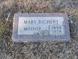 Mary <i>Senner</i> Richert