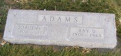 Ray D Adams