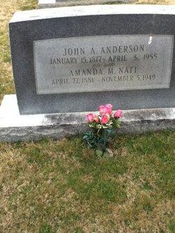 Amanda <i>Naff</i> Anderson