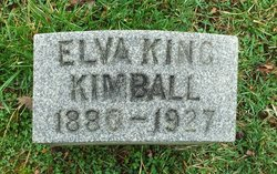 Elva <i>King</i> Kimball