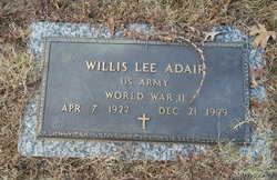 Willis Lee Adair