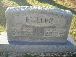 Mattie Lou <i>Spencer</i> Fuller