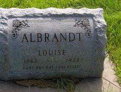 Louise <i>Staley</i> Albrandt