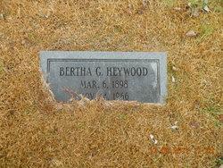 Bertha G Heywood