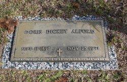 Doris <i>Dickey</i> Alford